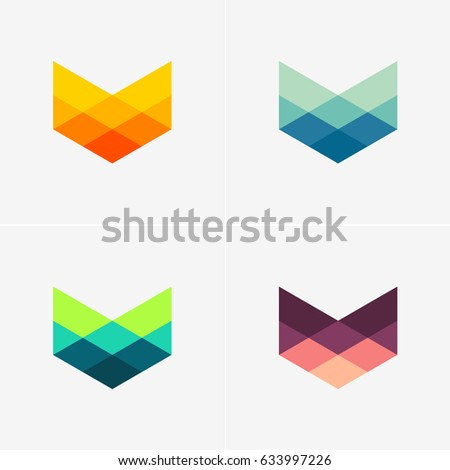modern abstract design vector