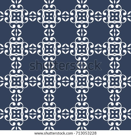 Modern abstract fashion design seamless pattern #713053228