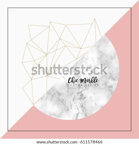modern abstract marble vector...