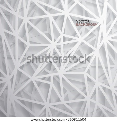 Modern Abstract Polygon Vector Design
