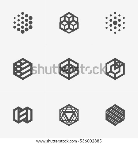 modern abstract vector logo or