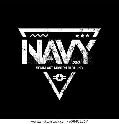 modern american navy grunge