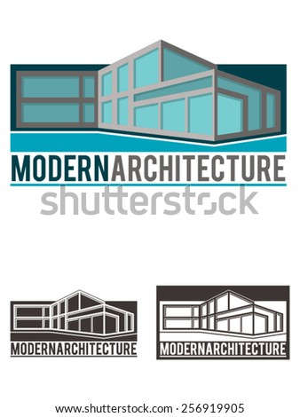 Modern Architecture Logo template. A vector logo template intended for business architecture, design, decoration, real state, etc.