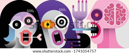 modern art vector illustration