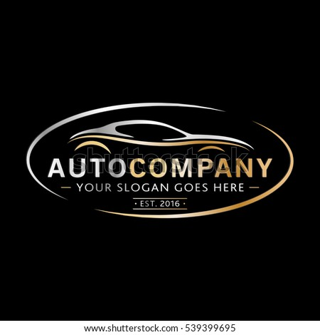 Modern Auto Company Logo Design. Vector and illustration.