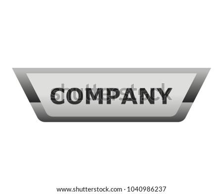 modern automotive look sticker