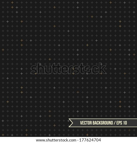 modern background with crosses
