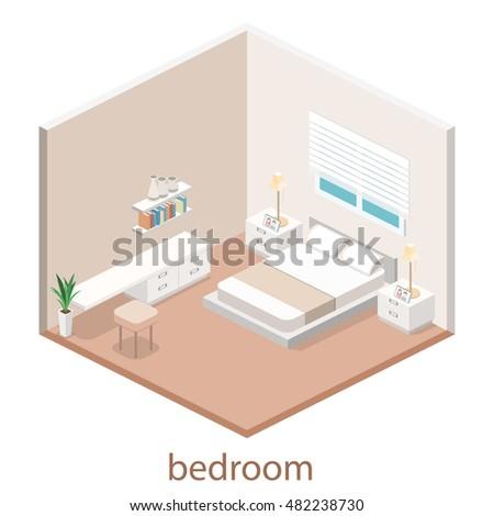 modern bedroom design in