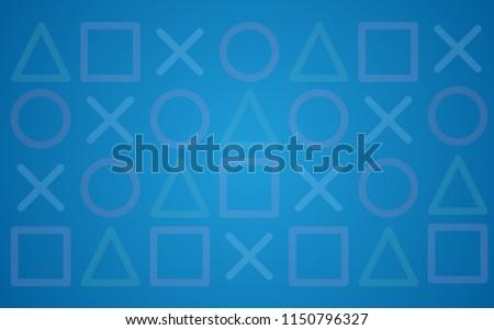 modern blue background game