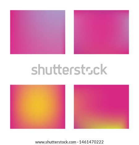 Modern blurry smooth background. Vector illustration texture. Simple backdrop with simple muffled colors. Pink fluid colorful shapes for poster, presentation and banner.