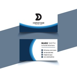 Modern Business Card - Creative and Clean Business Card Template