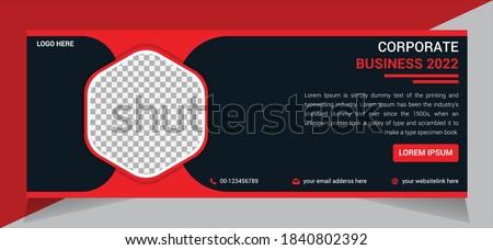 Modern Business Facebook Cover Design, Facebook Banner template Design, Web Banner Social Media Design Template