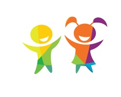 Modern Children Education Logo - Happy Kids Education