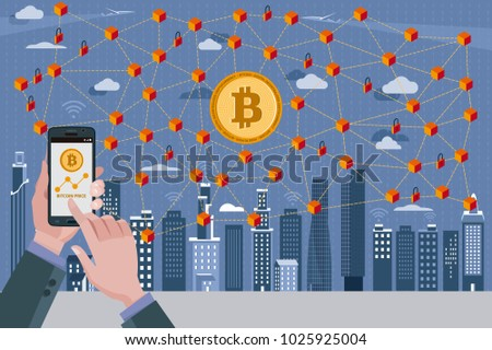 modern city bitcoin currency