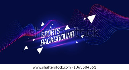 stock-vector-modern-colored-poster-for-sports-vector-illustration