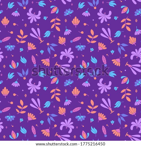 modern colored seamless violet