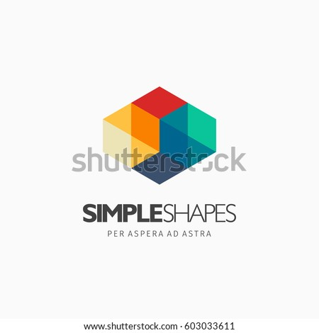 modern colorful abstract vector