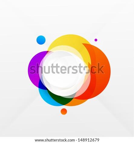 modern colorful geometrical