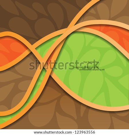 Modern colorful vector background with lines and pattern