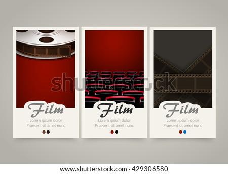 Cinema film reel - Download Free Vector Art, Stock Graphics