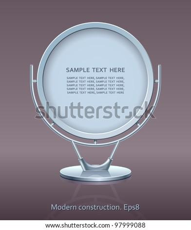 Modern construction, 3D, vector, design, Eps8