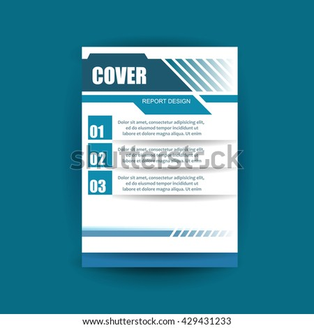 Modern Cover Annual Report Brochure
