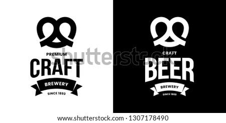 modern craft beer drink