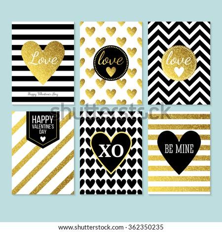 modern creative valentine's day