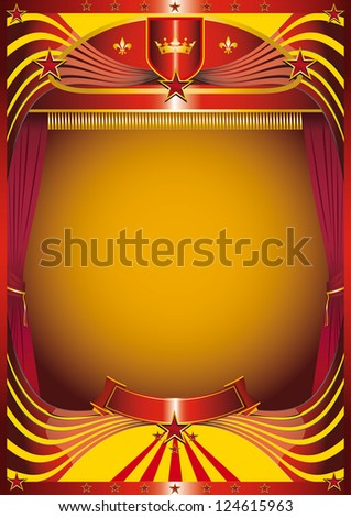 modern curtain. A background for your new show