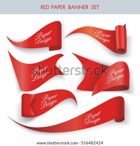 Modern 3D Design Tags and Labels - grouped vector elements