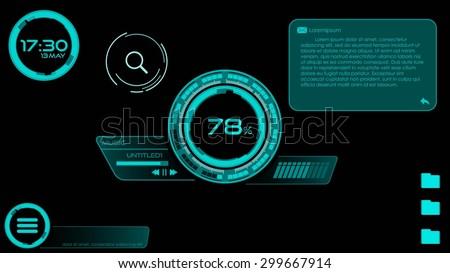 Modern Desktop User Interface