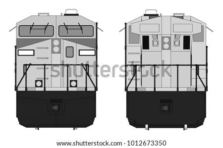 modern diesel railway