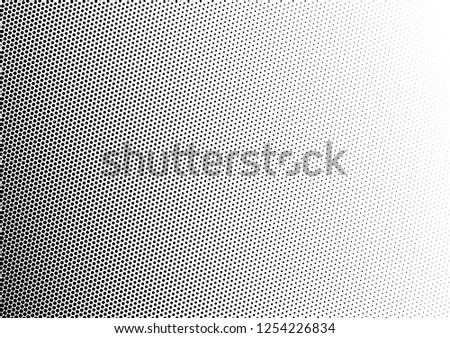 Modern Dots Background. Grunge Overlay. Halftone Pattern. Vintage Fade Texture. Vector illustration