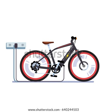 modern electric bicycle
