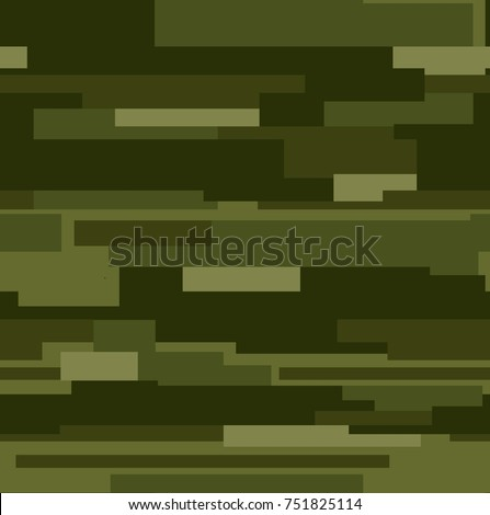Modern fashion vector trendy camo pattern. Seamless pattern. Fashion camouflage