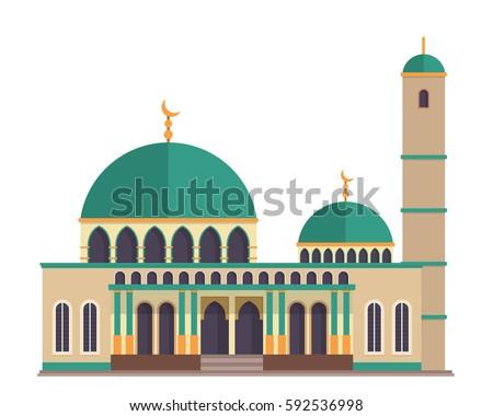 modern flat elegant islamic