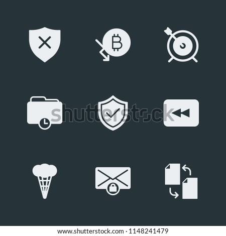 Modern Flat Simple Vector icon set. Contains Icons  communication, business, disability,  dart,  back, sweet,  competition,  physically,  digital,  money, time, security,  dartboard,  dessert,  copy