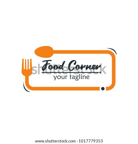 modern food logo design