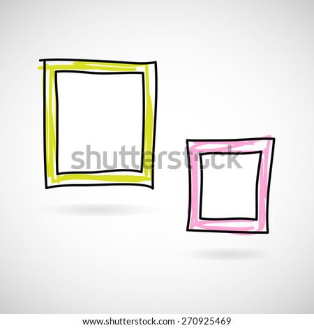 modern frames icon great for