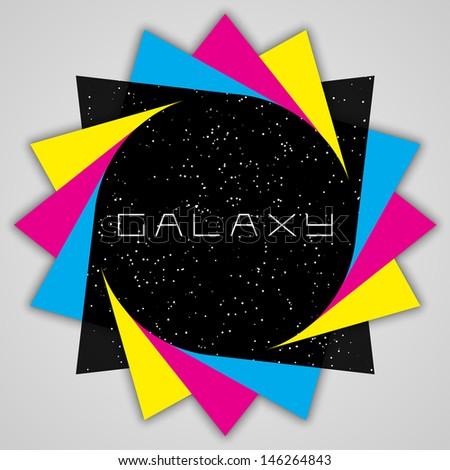 modern galaxy design   eps10