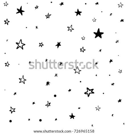 modern geometric star pattern