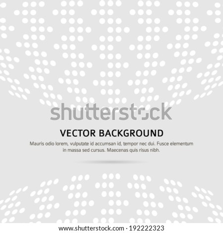 Modern geometrical grey background with squares ornament and place for your text. Graphic image template. Abstract vector Illustration eps 10 for your business booklet cover, banner template