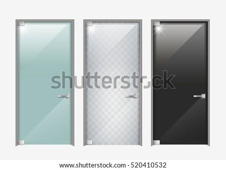 modern glass doors the