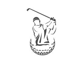 Modern Golf Logo - Professional Golfer Association
