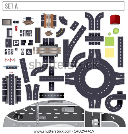 modern highway map toolkit top
