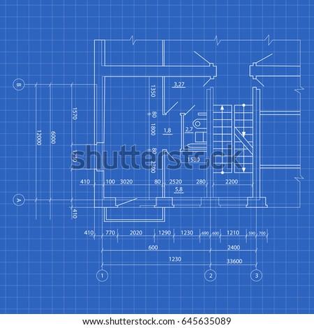 Modern House Blueprint