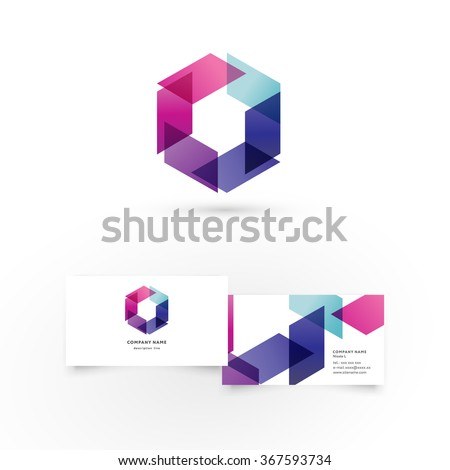 modern icon design logo element