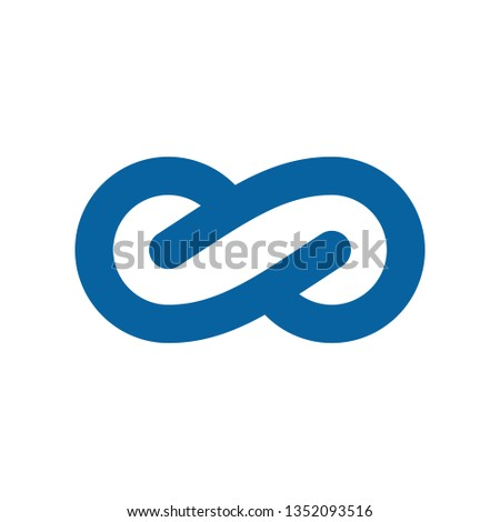 Modern Infinity Symbol Icons logo Template for technology business health company with high end look #1352093516