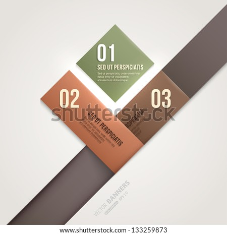 Modern infographic template for business design Can be used for banners cards paper designs website layouts diagrams and presentations Vector eps10 illustration