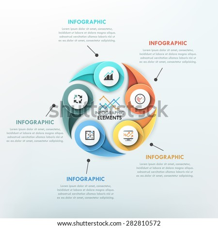 modern infographics cycle